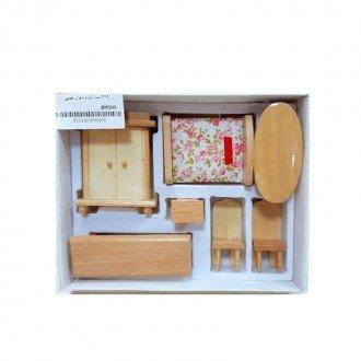 ست لوازم خانه کودک چوبی
