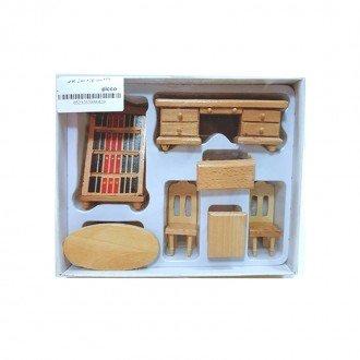 خصوصیات ست لوازم منزل چوبی مدل 429