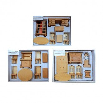 ست لوازم منزل چوبی بهترین هدیه برای کودکان