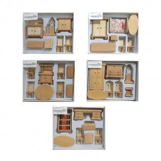 خرید ست لوازم منزل چوبی مدل 429