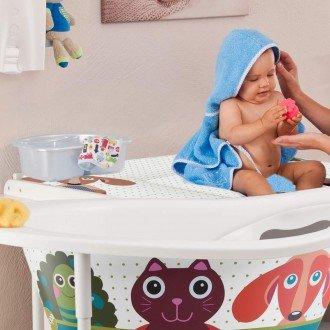 روش حمام کردن نوزاد یک روزه