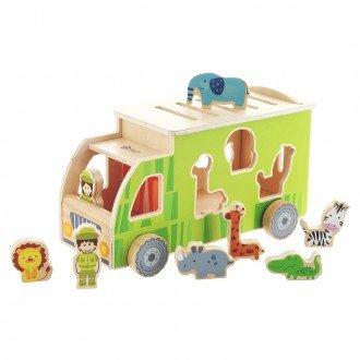جورچین کامیون حیوانات Classic World مدل 4155