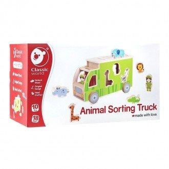 خرید جورچین کامیون حیوانات Classic World مدل 4155