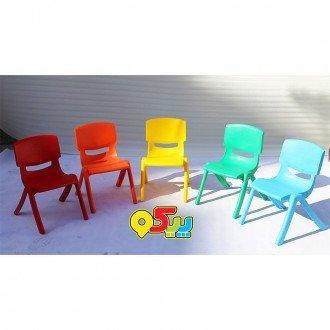 خرید صندلی کودک طرح لبخند رنگ سبز کد 5029