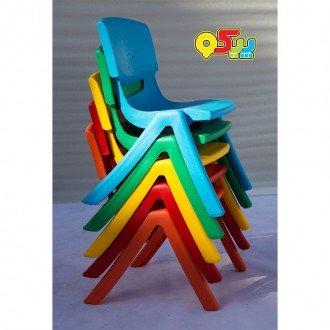 لوازم صندلی کودک طرح لبخند رنگ نارنجی کد 5029