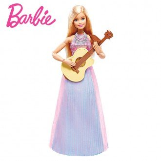 عروسک باربی با لوازم موسیقی مدل DLG94