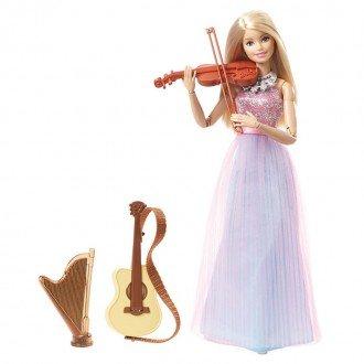 خرید عروسک باربی با لوازم موسیقی مدل DLG94