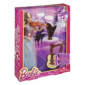 قیمت عروسک باربی با لوازم موسیقی مدل DLG94