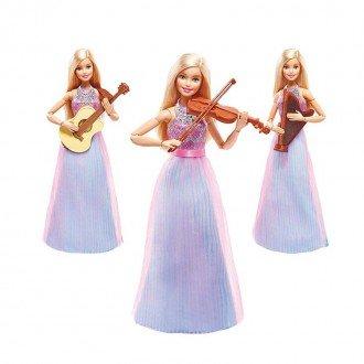 خصوصیات عروسک باربی با لوازم موسیقی مدل DLG94