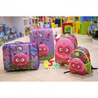 چمدان کودک طرح جغد okiedog مدل 80073