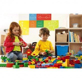 لگو آموزشی دوپلو سایز بزرگ 560 تکه مدل XL Brick Set 9090 lego