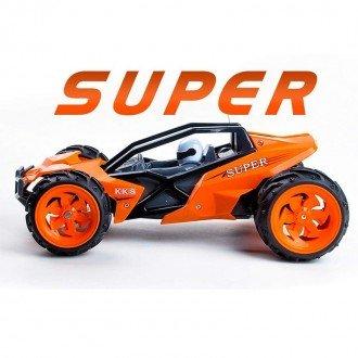خرید ماشین آفرود نارنجی مدل 888