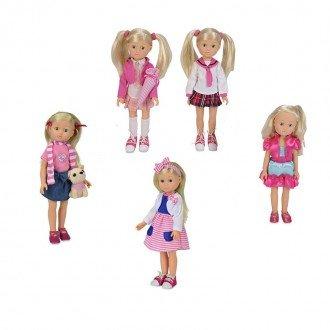 قیمت عروسک با دامن صورتی مدل 50492