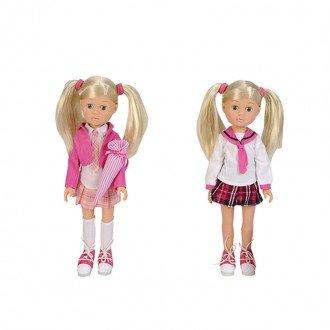 خرید عروسک با دامن صورتی مدل 50492