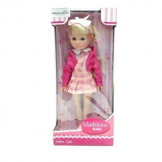 عروسک با دامن صورتی مدل 50492