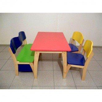 قیمت میز و صندلی چوبی کودک