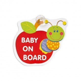 baby on board mother care طرح سیب مدل M8242