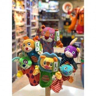 عروسک پاپت پلنگ مدل 100100پاپت میمون مدل 100100