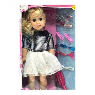 عروسک دفا با لباس سفید مدل 5508