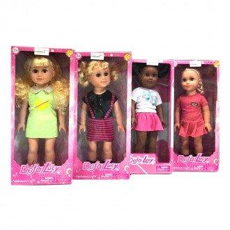 فروش عروسک دفا با لباس گلبهی مدل 5502