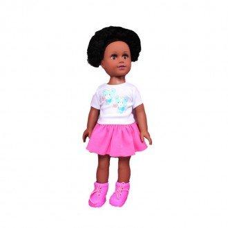 خرید عروسک دفا با لباس سفید صورتی مدل 5502