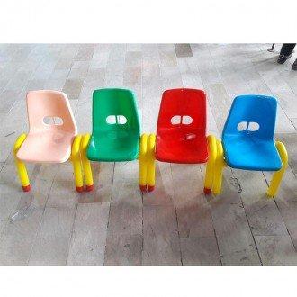 صندلی نارنجی زرد CURVY