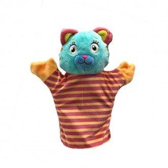 پاپت و عروسک نمایشی گربه مدل 100100