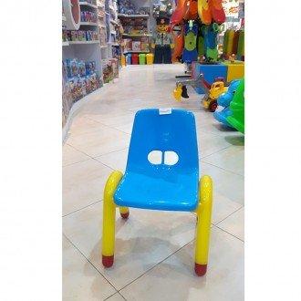 خصوصیات صندلی آبی زرد curvy مدل 5107