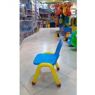 قیمت صندلی آبی زرد curvy مدل 5107