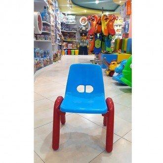 قیمت صندلی آبی قرمز  curvy مدل 5107