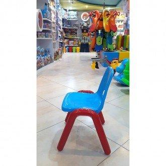خرید صندلی آبی قرمز  curvy مدل 5107