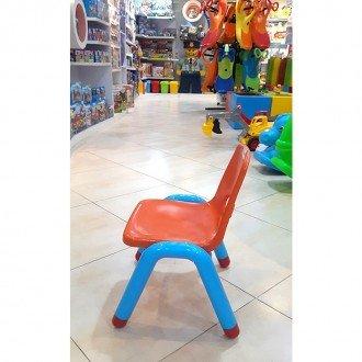 خرید صندلی نارنجی آبی curvy مدل 5107