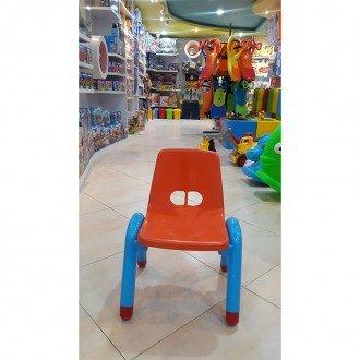 قیمت صندلی نارنجی آبی curvy مدل 5107