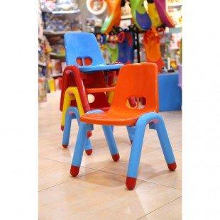 خصوصیات صندلی نارنجی زرد curvy مدل 5107
