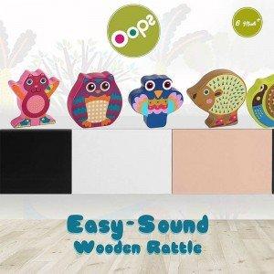 قیمت جغجغه چوبی جغد  Oops Easy Sound Owl مدل 1300812