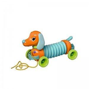 سگ نخ کش آکاردئونی موزیکال tomy مدل 72098