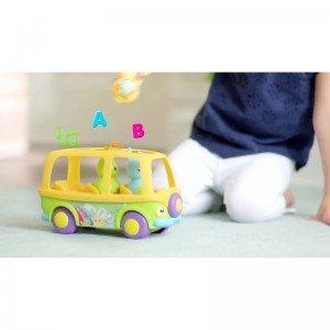 خرید اسباب بازی اتوبوس موزیکال خرگوش tomy مدل 72227