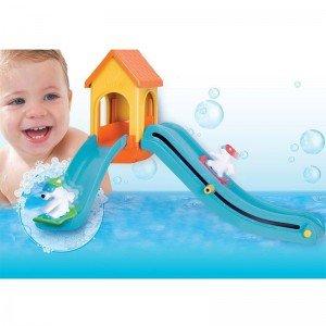 اسباب بازی حمام سرسره خرس های قطبی tomy مدل 71162