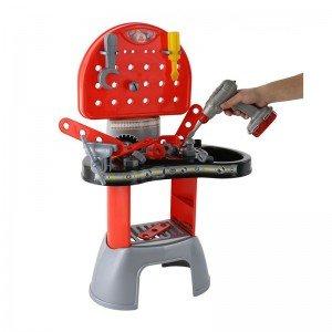 میز ابزار با دریل برقی polesie مدل 43221