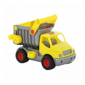 قیمت کامیون کمپرسی زرد polesie مدل 0407