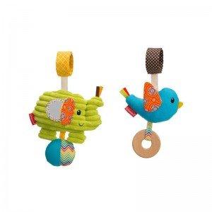 آویز دو عددی پرنده و فیل infantino مدل 5139