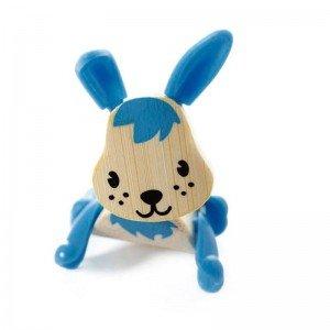 قیمت عروسک خرگوش آبی چوبی Hape مدل 5531