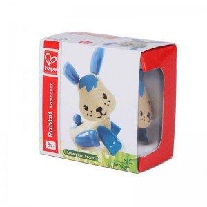 خرید عروسک خرگوش آبی چوبی Hape مدل 5531