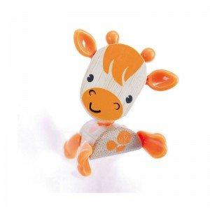 عروسک گاو نارنجی چوبی Hape مدل 5540