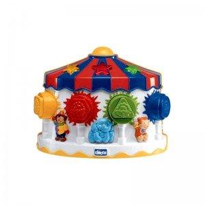 اسباب بازی موزیکال جورچین کودک طرح سیرک chicco مدل 68443