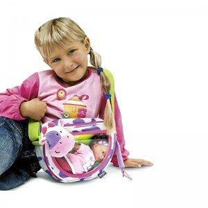 خرید عروسک با کیف طرح گاو chicco مدل 60783
