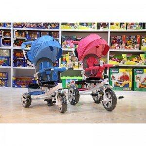 قیمت سه چرخه با سایبان صورتی مدل 4500