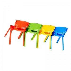 صندلی کودک طرح لبخند رنگ سبز کد 5029