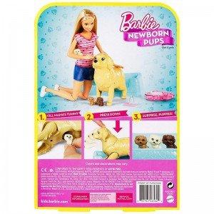خرید عروسک باربی همراه با سگ مادر مدل FBN1V