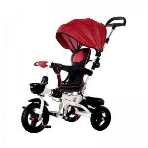 قیمت  سه چرخه با سایبان قرمز مدل T110025